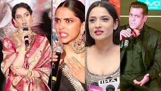Bollywood Celebs Latest Reaction On Kangana Ranaut& 39 s Manikarnika Controversy