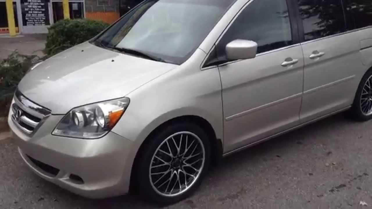 07 Honda Odyssey 20 Quot Rims Rimtyme Winston Salem Nc Youtube
