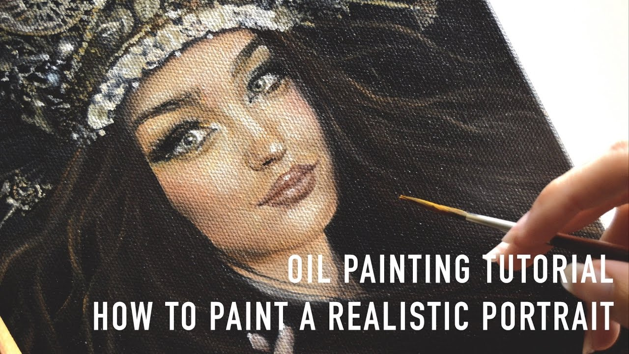 Oil painting portrait tutorial how to paint realistic faces oil painting portrait tutorial how to paint realistic faces youtube baditri Image collections