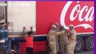 كوكاكولا تتبرع ب40ألف عبوة للعاملين