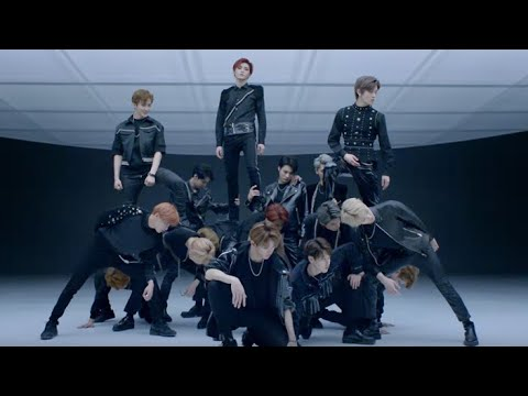 EXO/NCT - BLACK ON BLACK WOLF♪