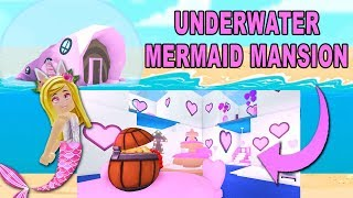 I Bought An UNDER WATER MERMAID Mansion In Adopt Me! (Roblox)