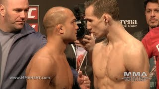 UFC on FOX 5: Main Card Weigh-ins + Staredowns (complete + unedited)