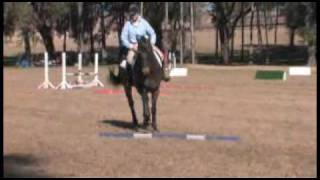 Ground Pole Schooling Exercise with Karen O