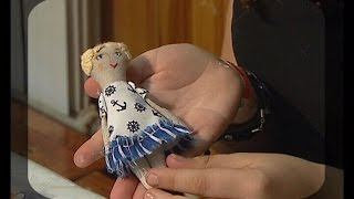 Секреты изготовления измайловского пряника и авторских кукол. Мастер класс