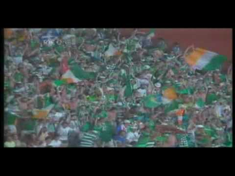 In honour of Jack Charlton... nicely edited short video of Ireland's World Cup 90 run