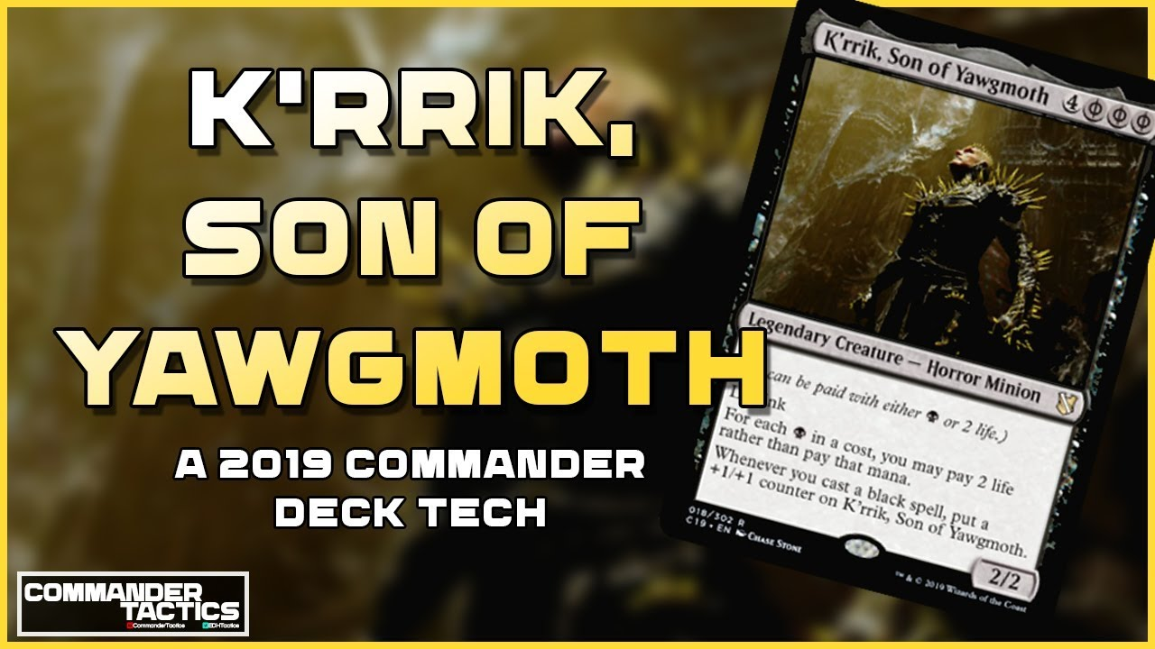 K'rrik, Son of Yawgmoth: Shadowborn Apostles || A 2019 Commander Deck Tech  #04 ||
