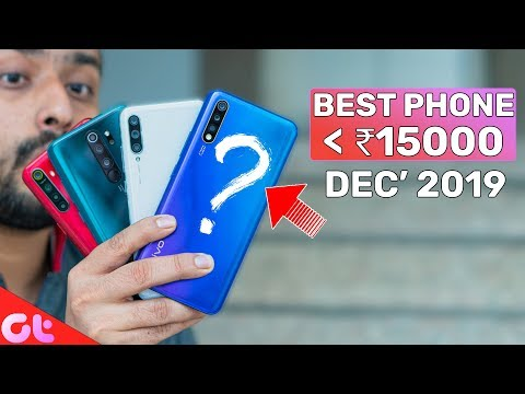 TOP 6 BEST PHONES UNDER 15000 In December 2019 | Sabse Latest & Jabardast | GT Hindi