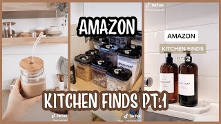 TIKTOK AMAZON MUST HAVES   Kitchen Edition PART 1 *WITH LINKS*