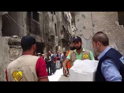 Inside Yarmouk camp