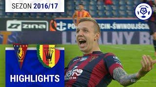 Pogoń Szczecin - Korona Kielce 3:0 [skrót] sezon 2016/17 kolejka 37