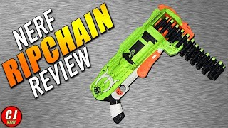 Nerf Zombie Strike Ripchain Blaster - 2018 Unboxing & Review