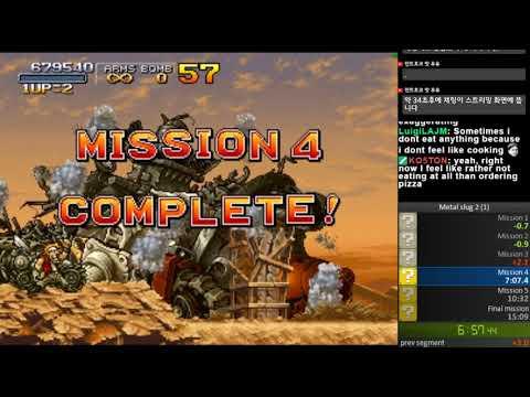 Metal slug 2 easy speedrun 14min 51sec (WR) |