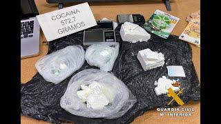 La Guardia Civil desarticula un grupo organizado dedicado al tráfico de drogas