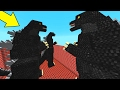 20,000 QuẢ Tnt VỚi 5 Godzilla Trong Minecraft!! video