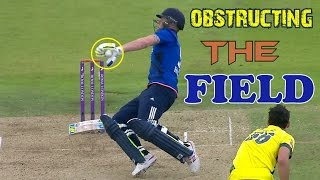 Obstructing the Field Compilation in Cricket ●► Cricket Weird Dismissals
