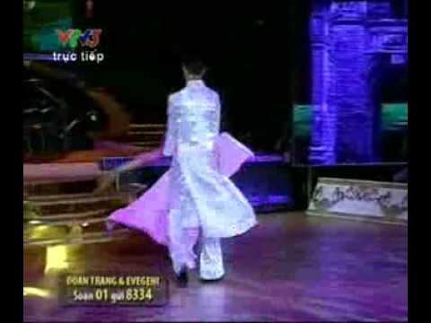 """Đoan Trang với điệu Valse """"sáng tạo"""" trong Bước nhảy hoàn vũ hôm 13.6.2010"""