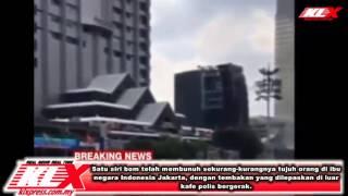 Terkini: Letupan Bom 7 Maut di Jakarta Indonesia