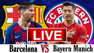 Thanks for watching our video, #barcalive #barcavsbayern #bayernlive #championsleaguelive #bayernmunichvsbarcelonalive, #barcelonavsbayernive #barcavsbayernlive#championsleaguelivestreaming, bayern vs ...