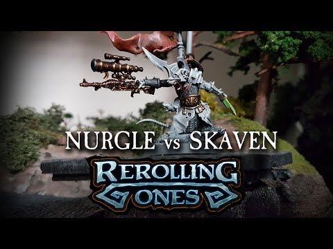 Warhammer: Age of Sigmar Battle Report - NURGLE vs SKAVEN