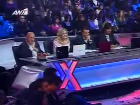 X Factor | Nikolas Metaxas |  Evanescence - Bring me to life