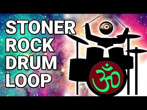 Free STONER ROCK DRUM LOOP #3  60 bpm