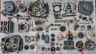 Part 4 : KTM Duke 390 Build : Dismantling The Engine