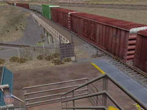 Union Pacific Rail Operations Simulator (ROS) Video (HQ)