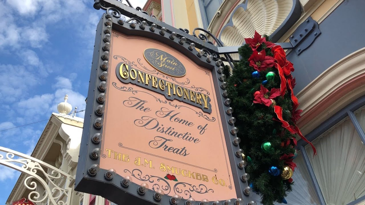Image result for image, photo, picture, walt disney world, the confectionery, sign