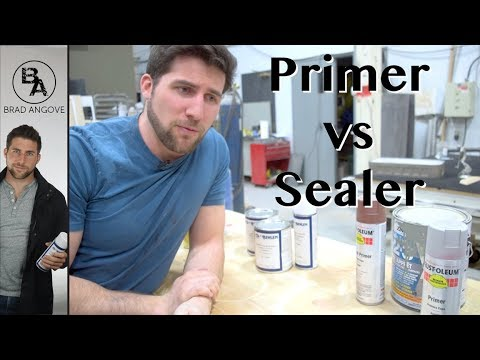 Primer vs Sealer (and what they are used for)