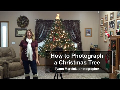 How to Photograph Your Christmas Tree