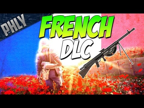 BF1- VIVE LA FRANCE ft. Chauchat Machine Gun (Battlefield 1 They Shall Not Pass DLC Gameplay)