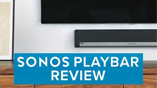 Sonos PLAYBAR Wireless Soundbar Review