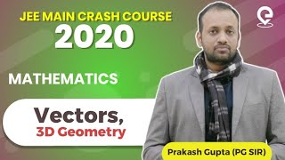 Previous Years JEE Main Questions | Vectors, 3D Geometry | PG SIR | Download PDF from the link below