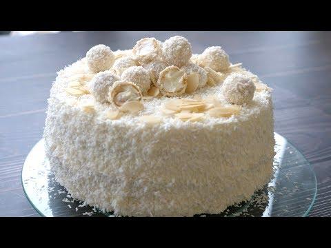 Торт 'РАФАЭЛЛО' Какой Же Он Вкусный !!! - Простые вкусные домашние видео рецепты блюд