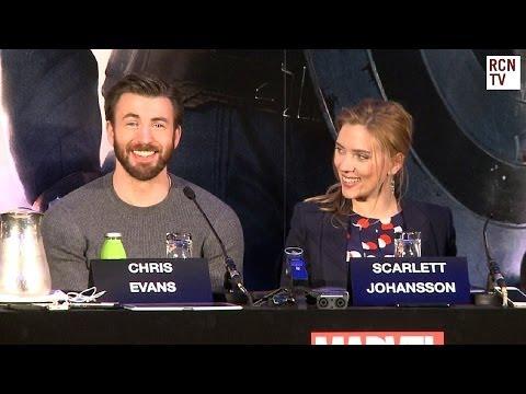 Captain America The Winter Soldier Premiere Interviews