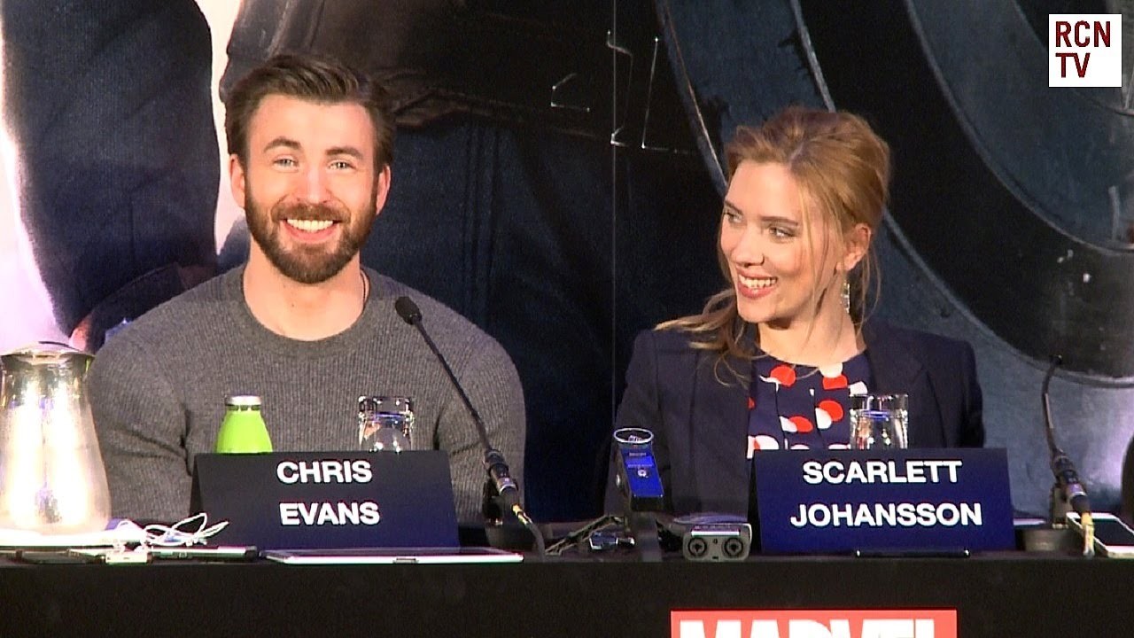 Captain America The Winter Soldier Premiere Interviews