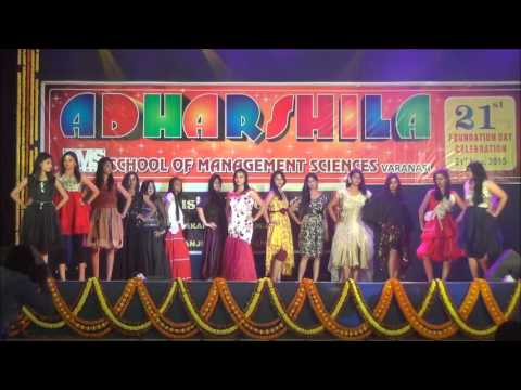 21th Foundationa Day ADHARSHILA -2015- Fashion Show