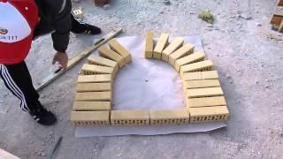 арка из кирпича.как правильно разметить и сделать арку.Nivok111(, 2015-04-29T16:29:58.000Z)