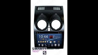 The SMARTY Trend head unit for Nissan Qashqai (2006-2010).