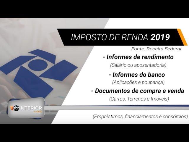 Veja quais as documentações são necessárias pra fazer a declaração do imposto de renda