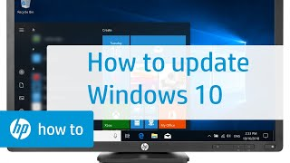 How To Update Windows 10 | HP Computers | HP