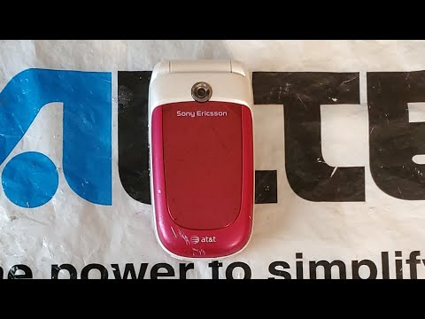At&t Sony Ericsson Z310A