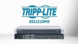 Minicom by Tripp Lite 16-Port Multi-User KVM Switch 0SU22090