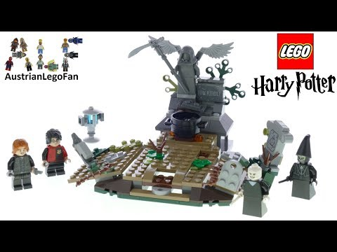 Lego Harry Potter 75965 The Rise Of Voldemort - Lego Speed Build Review