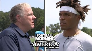 Cam Newton's FULL INTERVIEW with Peter King at Panthers Training Camp | NBC Sports