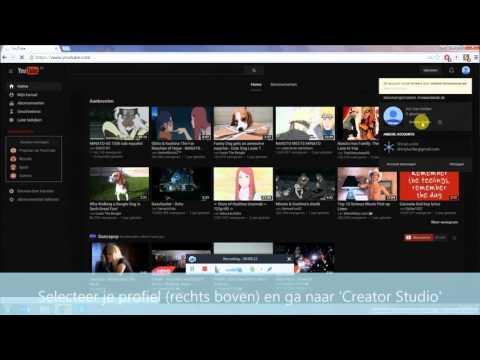 Tutorial: Hoe zet ik een YouTube video op privé?