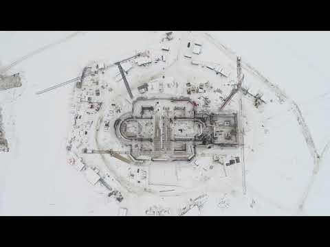 видео: Cтроительство Главного храма ВС РФ - 2019-01-28