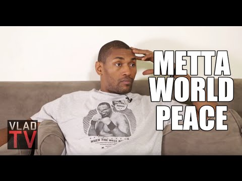 Metta World Peace: Pacers/Pistons Brawl is Haunting But It