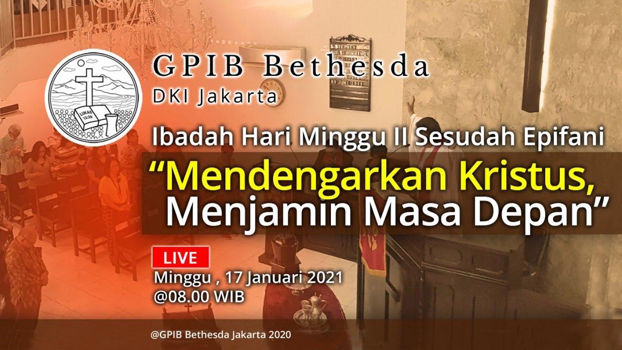 Ibadah Hari Minggu II Sesudah Epifani (17 Januari 2021)